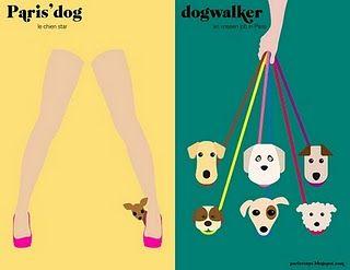 Paris vs NY - les chiens