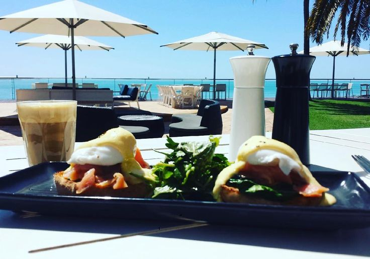 """Saturday starts like this! #mangrovehotel #newmenu #broome #breakfastclub"""