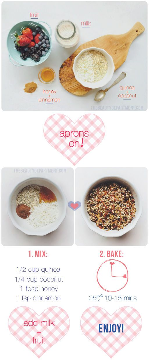Swap out your boxed cereal for something much healthier (and insanely delicious!) Full recipe on thebeautydepartment.com
