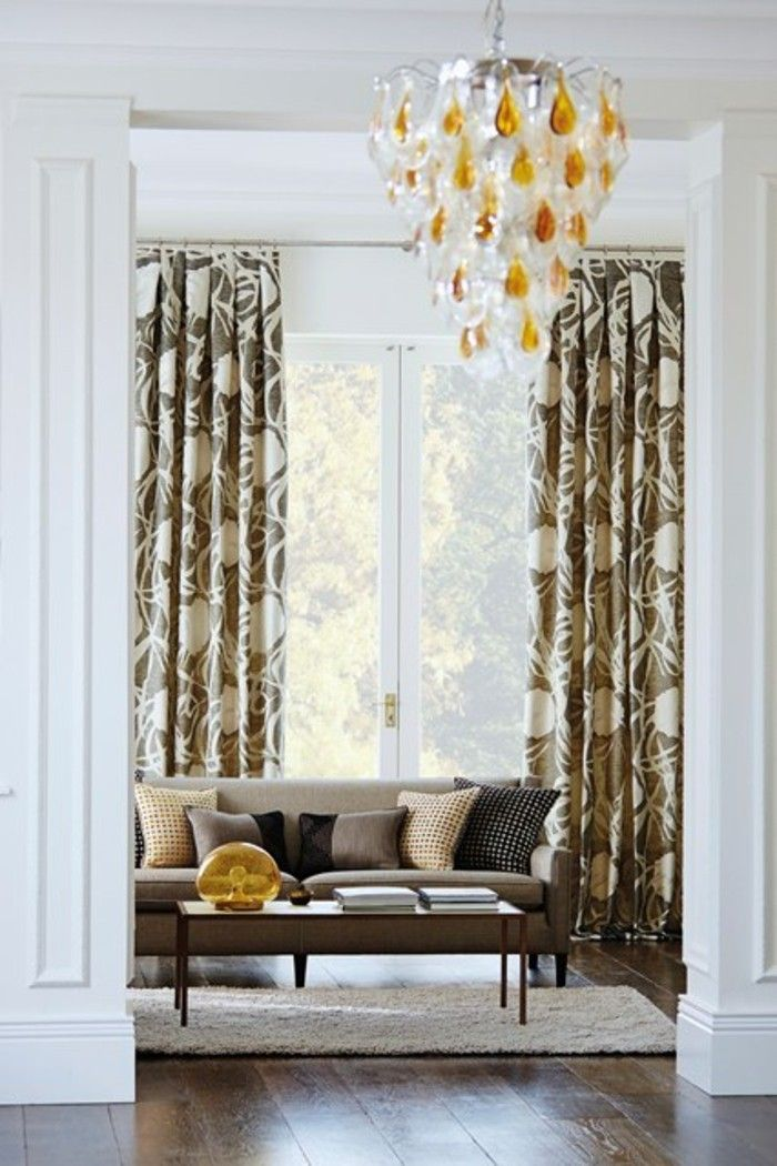 17 best ideas about modern living room curtains on 59650