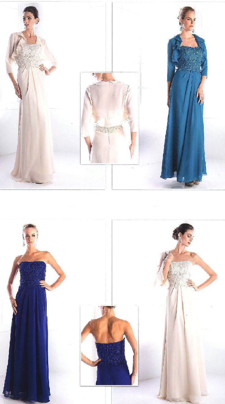 434 best evening dresses mob dresses informal wedding gowns evening dresses bridesmaid dresses under 100braddch1507brstrapless long dress with lace bodice chiffon skirt and three quarter length sleeved jacket ombrellifo Image collections
