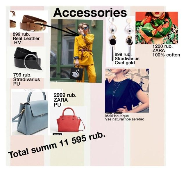 """Accessories for client"" by poletaeva-anna on Polyvore featuring мода"