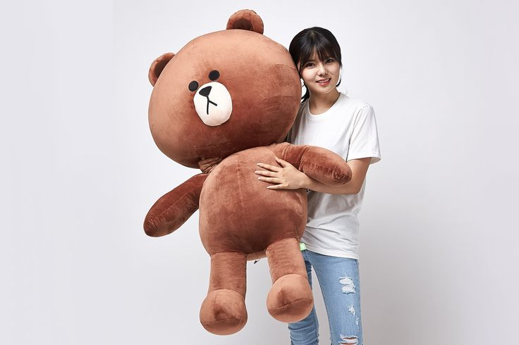 Naver line friends Brown toy 110cm Naver line friends Brown toy 110cm