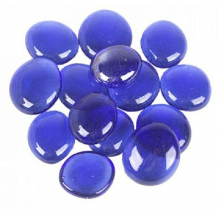 glass vase gems cobalt blue bulk ggm001blu cobalt blue