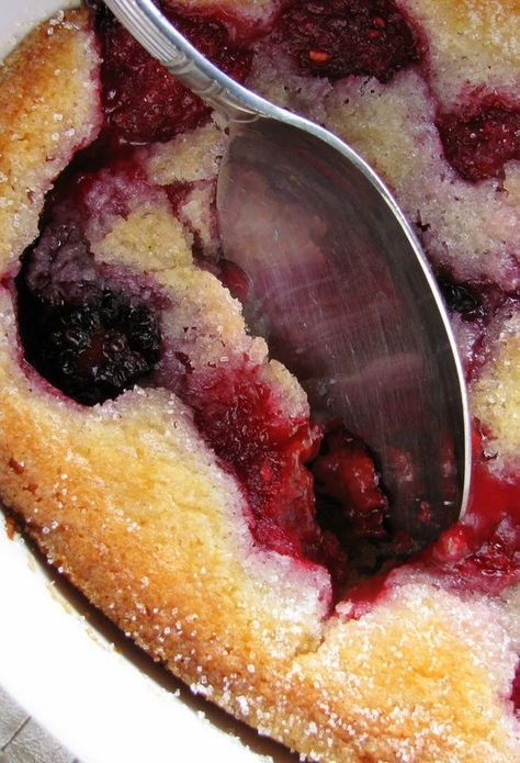A Very Berry Cobbler that is stupid-easy to make, and crazy-good to eat.