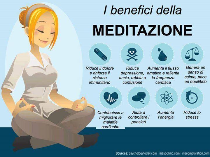 Meditazione e benefici