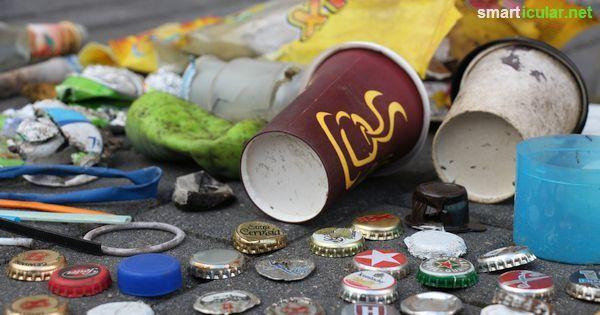 Überall begegnen uns Einwegprodukte und -verpackungen und die Mülltonnen quellen über. Dabei gibt es oft einfache und sinnvolle Alternativen.