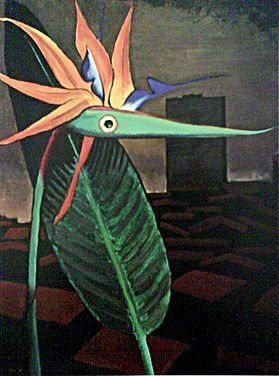 Man Ray's bird of paradise