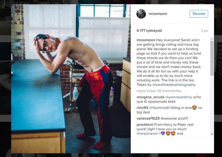 Seksikkäät+Spider-Man-kuvat+saavat+sukat+pyörimään+jaloissa