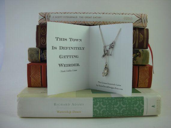 Give Back  The Grimm Essentials Lariat  by KarenDavidDesigns