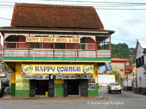 Happy Corner Hotel and Bar in San Fernando Trinidad, photographed by Rachel Amy Rochford