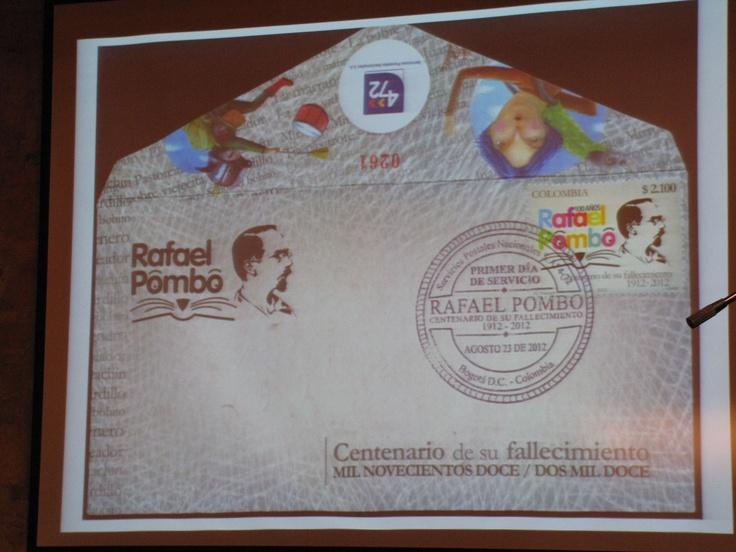 El sobre y la estampilla.  Crédito Miltón Ramírez @FOTOMILTON /MinCultura2012