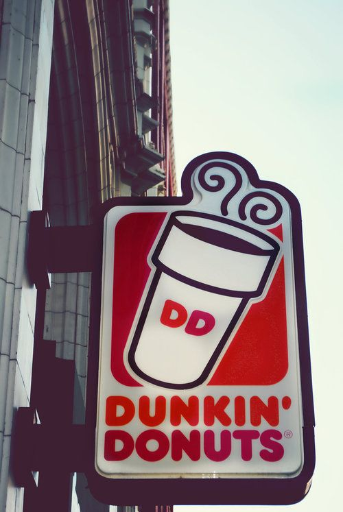 Love me some DD coffee ♥....and of course the donuts!