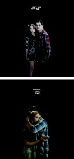 Perfect quote for them. Stydia tumblr edit. Teen Wolf.