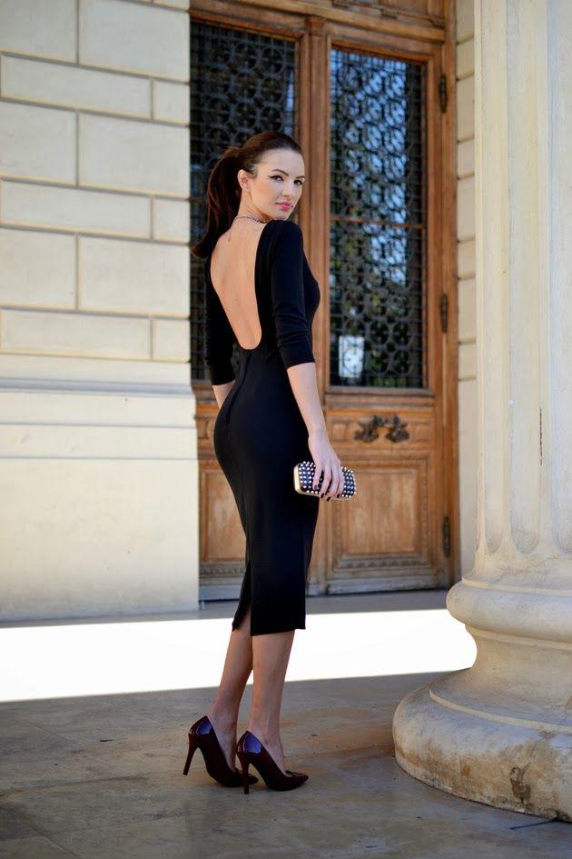Sexy lil' Black Dress .