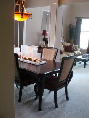 9 Best Dining Room Ideas Images On Pinterest  Dinner Parties Stunning Dining Room Center Pieces Decorating Inspiration