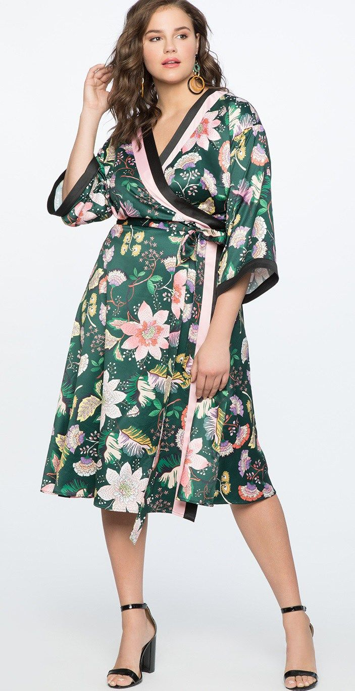 30 Plus Size Summer Wedding Guest Dresses With Sleeves Alexa Webb Plus Size Dresses Plus Size Outfits Wedding Guest Dress Summer [ 1367 x 703 Pixel ]
