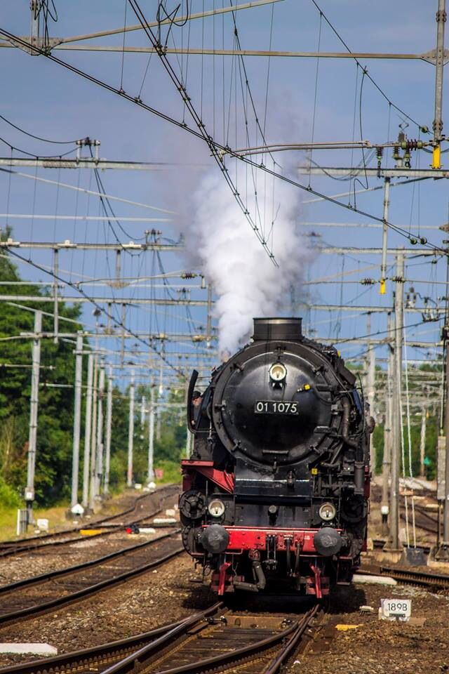 Steam Train at Gouda - The Netherlands