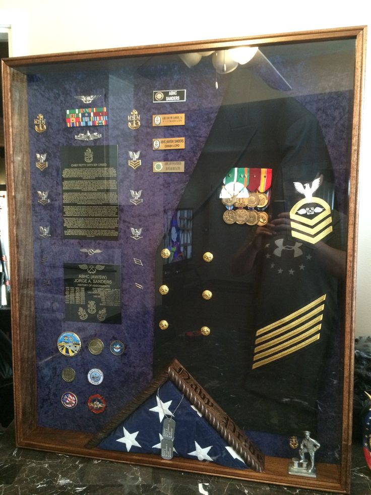 110 Best Military Shadow Boxes Images On Pinterest