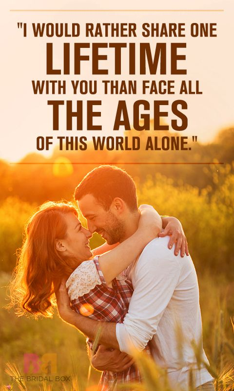 Sometimes it takes a lot of courage to express how we feel. And coming up with the right thing to say to him is so troublesome.Best  6 one line love quotes for him.....