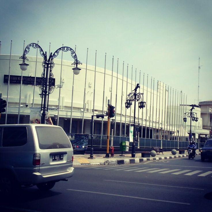 Gedung Merdeka at Asia Afrika Street, Bandung, Indonesia