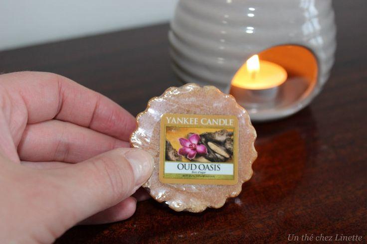 Aujourd'hui, c'est tartelette Oud of Oasis de @yankeecandlefr  dans un brûleur #alcante attention parfum de réglisse, il faut aimer :-)