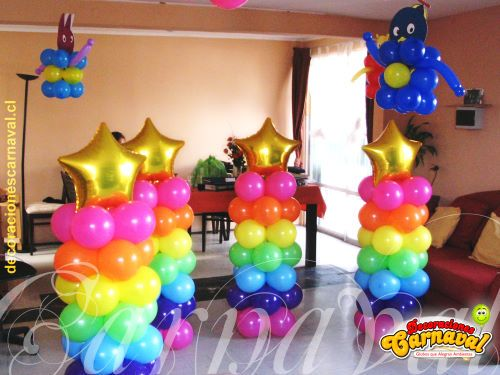 Decoraci n backyardigans 3 carnavalproduc fotolog - Motivos infantiles para decorar ...