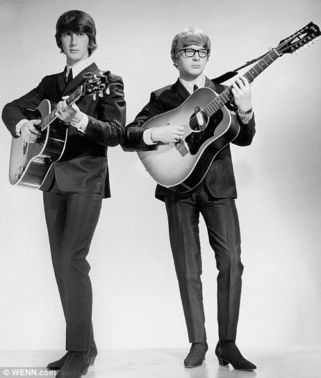 Peter and Gordon......Gordon Waller and Peter Asher had nine Top 40 hits across the world between 1964 and 1968. Paul McCartney wrote four songs for them, including A World Without Love, when he was dating Asher's actress sister Jane.