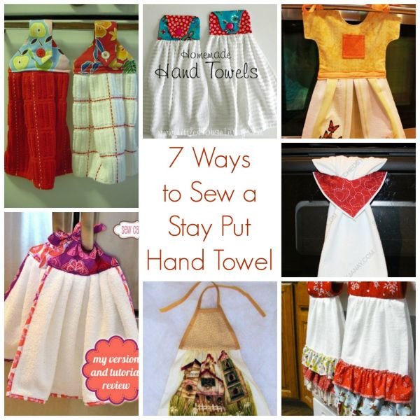 Diy Hanging Dish Towels Easy Craft Ideas