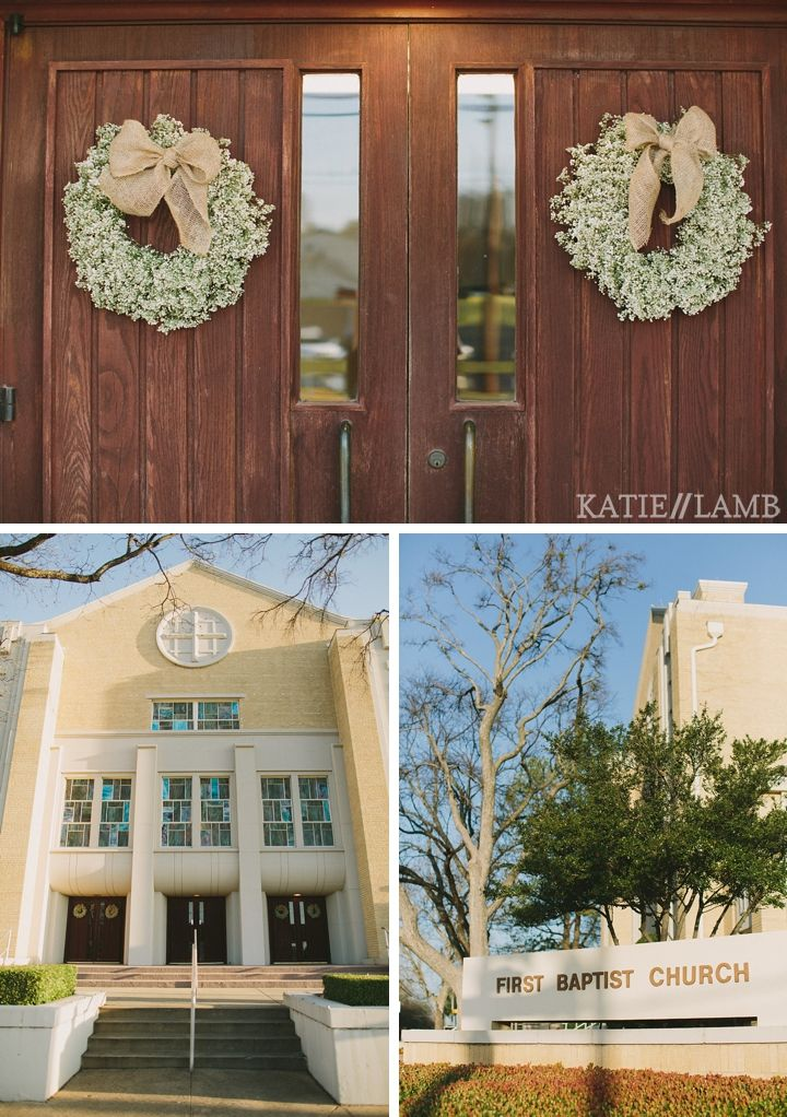 I love the baby's breath wreath! There's a door on the corn crib and it would look super cute. Not sure how hard it would be to make.