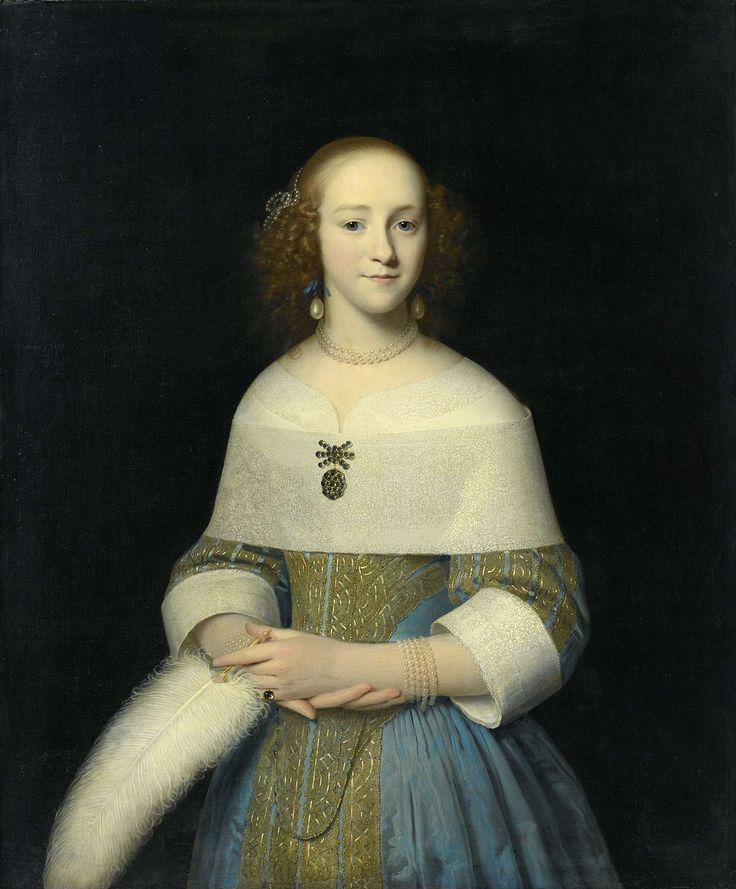 Portrait of a Young Lady, Isaack Luttichuys, 1656