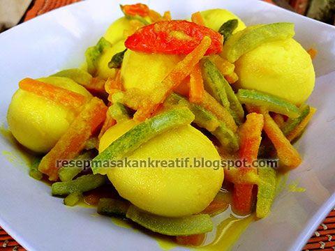 Telur Acar Kuning
