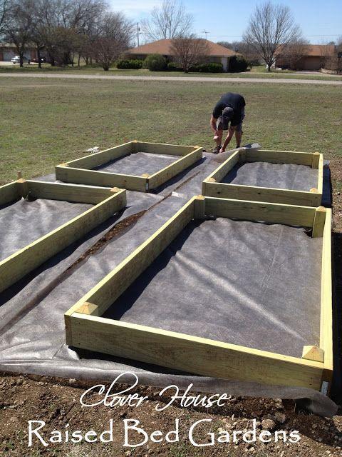 Clover House: Raised Bed Garden (Part 2)