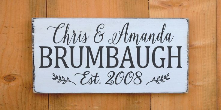 Wedding Sign Personalized Wedding Gifts Bride Groom Names Wooden Signs Decor Home Reception Woodland Boho Rustic Winter Theme Shower Gift