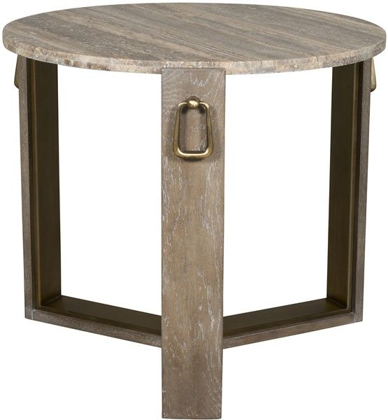 Vanguard Furniture: 9555E-HM Pen Yan Side Table