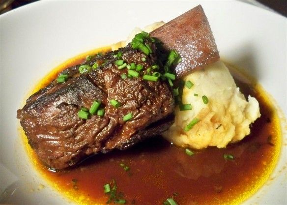 Braised Beef Short Ribs 6 Good Quality Beef Short Ribs 2 celery stalk ...