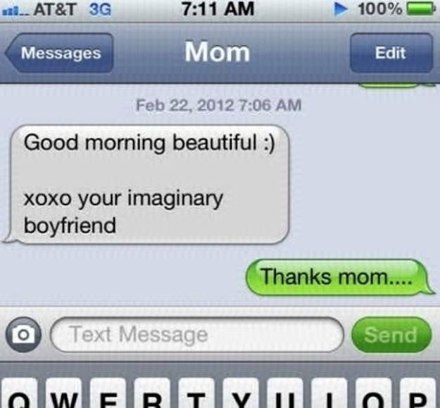 27 Reasons Why Parents Shouldn't Be Allowed To Text Or maybe exactly the reason why they should be the only people allowed to text.
