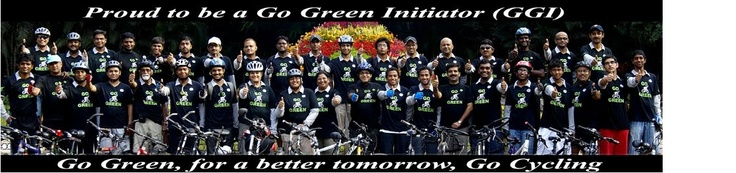 GoGreenGoCycling.org – Go Green for a better tomorrow, Go cycling
