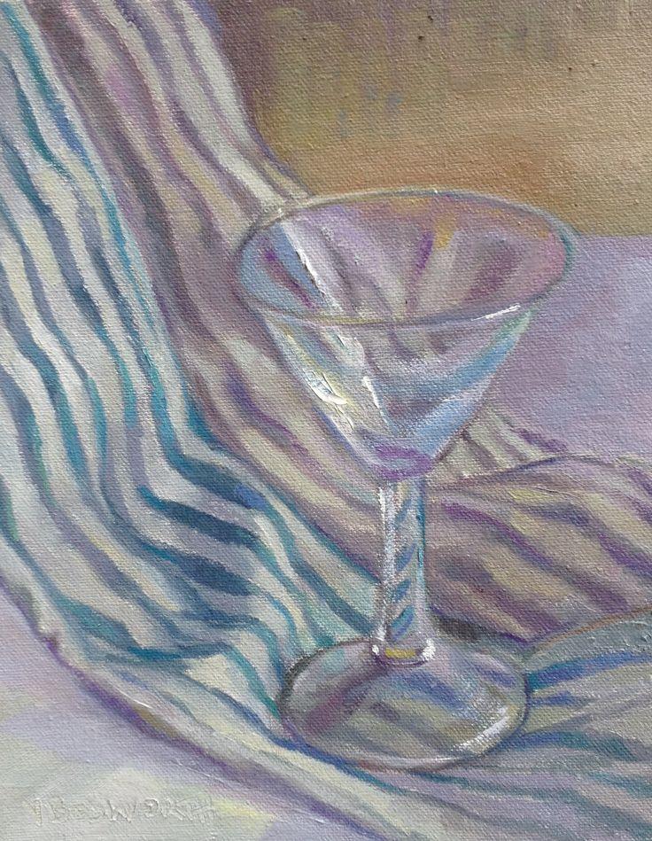 Cocktail 3 Oil on canvas 25 x 20cm