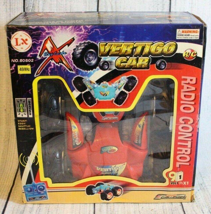 Explode Vertigo Car RC Radio Control Vehicle 49 MHz No ...