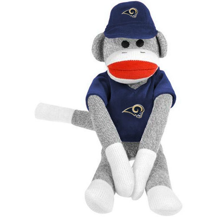 Los Angeles Rams Uniform Sock Monkey
