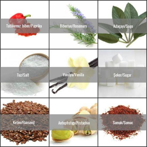 Baharatlar / Spices