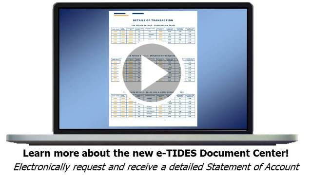 E-TIDES Pennsylvania Business Tax System #2nd #income #from #home http://incom.nef2.com/2017/05/01/e-tides-pennsylvania-business-tax-system-2nd-income-from-home/  #tax online filing # Timely Filing Vendor Discount Change Under Act 84 of 2016, a vendor discount cap is imposed on all sales tax returns that have a period end date after August 1, 2016. When a return with full remittance is filed timely, the discount will be the lesser of $25 or 1 percent […]