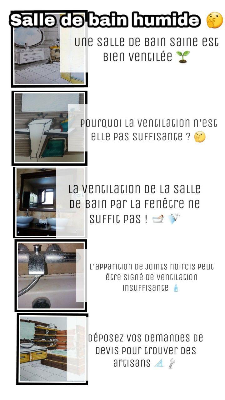 Evacuation Salle De Bain humidité dans la salle de bains | salle de bain, aménagement