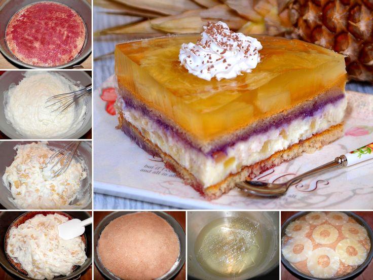 Množstvo skvelých receptov na zákusky, torty, rezy a iné sladké dobroty zo stránky NAJLEPŠIE pozbierané RECEPTY...