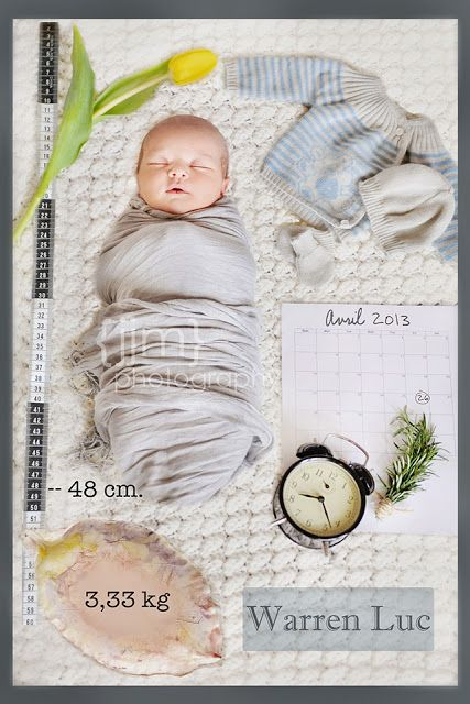 Newborn- announcement  JJM Photography