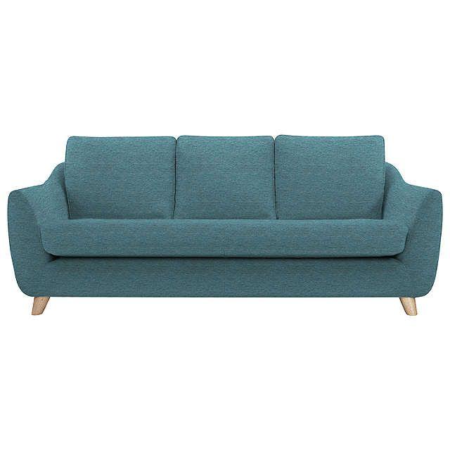 BuyG Plan Vintage The Sixty Seven Large Sofa, Fleck Blue Online at johnlewis.com