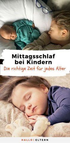 Hier erfährst du, wie viel Schlaf dein Kind in we…