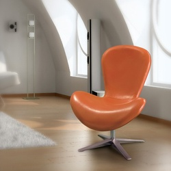 @Overstock - Add a unique contemporary flare to any room in your house with this comfortable and stylish modern-style chair.http://www.overstock.com/Home-Garden/Modern-Orange-PU-Chair/6431245/product.html?CID=214117 $239.99: Living Room Chairs, Orange Chairs, Low Orange, Modern Orange, House, Cool Chairs, Awesome Stuff