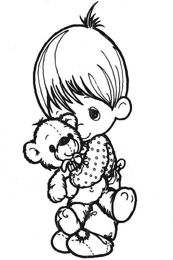 precious moments angel coloring pages - photo#22